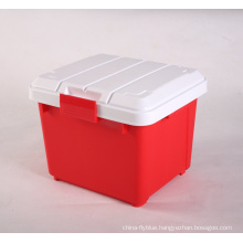 Large hard plastic storage boxes for trunk
