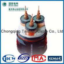 Factory Wholesale 15kv 3x240mm mv multi core pvc insulated industrial power cable