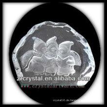 K9 Kristall Intaglio von Form S071
