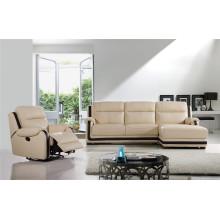 Функциональная мебель Кожаный диван с шезлонгом