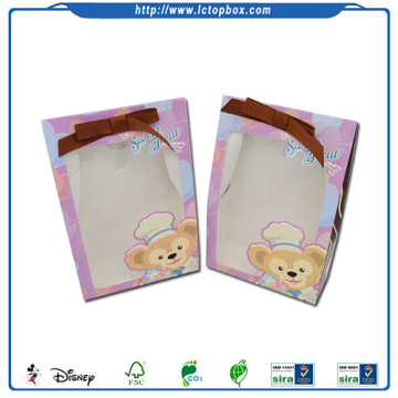 Kertas Hadiah Beg Candy dengan PVC Windows