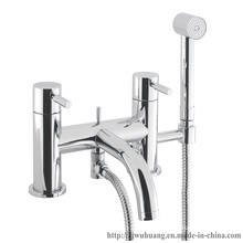 European-Style Dual Handle Bath Shower Set