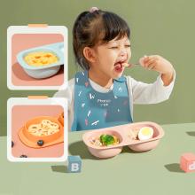 Baby Snack Pot Plastic Seal Bowl Sets BPA-Free