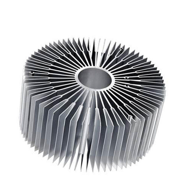 Pl11553251 Led Heatsink Extruded Aluminum Heat Sink Oxidation Surface Treatment