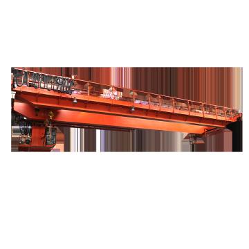 Pont roulant suspendu à double faisceau de 20 tonnes