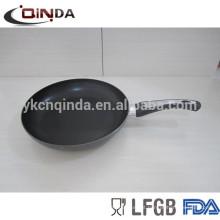Panela de cozinhar antiaderente de alumínio / panela com fogão de indução