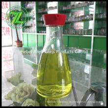 150ml Sojasauce Glasflasche mit Loch Kunststoffkappe