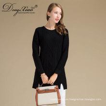Suéter de lujo de las muchachas del jersey de Kniitted de la venta caliente del proveedor de China con la alta calidad
