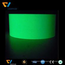 China manufacturer hot selling glow in the dark luminous tape,photoluminescent vinyl film