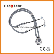 Medical Rappaport Zinc Alloy Stethoscope with Clock