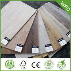 8mm Wooden Click Lock  Wpc Flooring