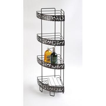 Nice Metal Pattern Storage Shelf Rack