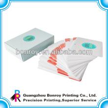 impresión offset tarjetas de juego personalizadas / naipes baratos