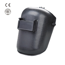 Industrial safety plastic flip up welding helmet