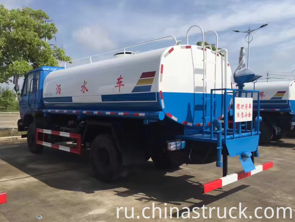 10CBM water tank truck for city clean