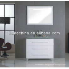 2013 High Gloss Glass Bathroom Cabinet