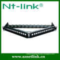 High integrated unloaded right angle Patch Panel
