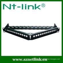 Высокая интегрированная незагруженная прямоугольная патч-панель