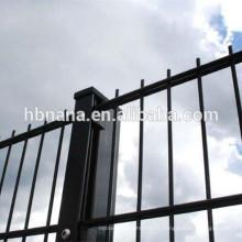Double panneau soudé du fil 868/656 de barrière / double grillage de barre