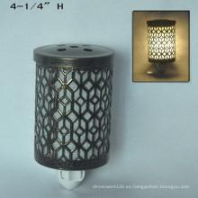 Enchufe de metal eléctrico en la luz de la noche Warmer-15CE00891