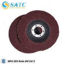 Placa de refuerzo de fibra de vidrio grueso para disco de aleta no tejido