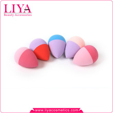 2015 Wholesale two tone beauty makeup sponge for skin care free sample