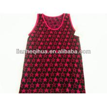 Jacquard seamless girl lace camisole