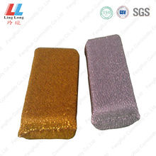Foam silver kitchen sponge