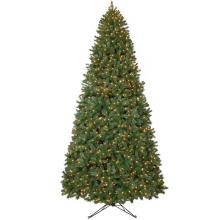 12 FT. Wesley mezcló el árbol de navidad artificial Spruce con 1800 luces claras (MY100.075)