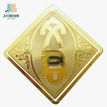 Customize Logo Gold Brass Metal Square Bookmark for Promotional Gift