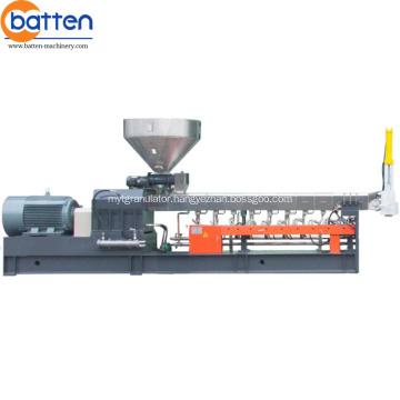 Plastic Recycling Machine twin screw barrel