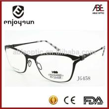 mens classical screw less metal optical eyewear spectacles