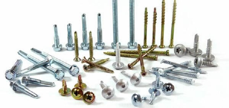 M4 Hex Washer Head Self Drilling Screw Nuts
