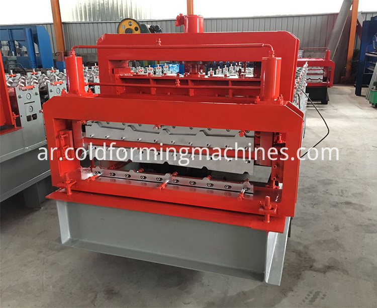 double layer roll forming machine 6