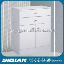 Meubles de salon à la maison Vente chaude Meubles de mode Charnières à deux portes indépendantes avec meubles de rangement de salle de bain tampon