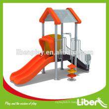 Liben Play Attractive Homemade Usé Équipement d'aire de jeux extérieur avec revêtement de sol en caoutchouc