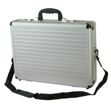 Custom Silver Handle Aluminum Briefcase Laptop Case
