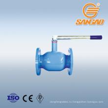 фланцевое соединение плавающий полностью сварной шаровой кран DN200 PN16 сварной шаровой кран червячная передача из углеродистой стали