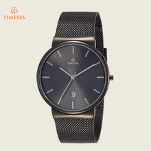 Men′s Stainless Steel Watch with Mesh Band 72347