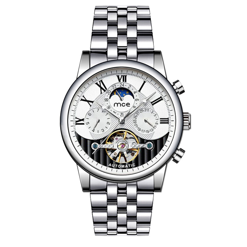 full stainless steel men automatic watch