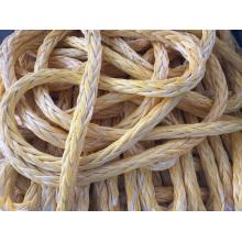 Cordes de polyéthylène de poids moléculaire ultra élevé, corde d'amarrage