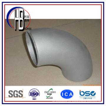 Acoplamiento de tubo de acero inoxidable forjado de 90 grados de acero inoxidable