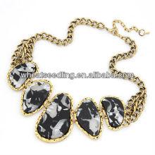 Modèles en alliage style diamant style diamant en gros Collier en gros 84g-400x150x51mm Jewelry 09042899