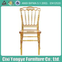 Высокое качество пластиковый стул Наполеон с мягким валиком