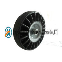 10 Inch Solid Rubber Wheels for Hand Trolley