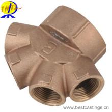 Corps de vanne de dérivation en laiton et bronze de haute qualité