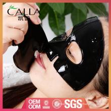 Máscara de carbón de bambú negra de la marca privada del OEM hecha en China