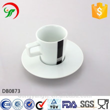 Fábrica de feitos por atacado, copos de chá por atacado, conjunto de copos de café de cerâmica, xícaras de café de porcelana