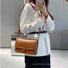 Genuine leather designer big branded lady purse Chain shoulder women's bag L+Y+S