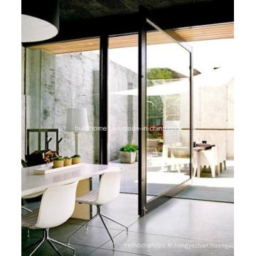 Portes pivotantes en aluminium de qualité supérieure